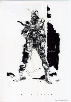 Solid Snake - Yoji Shinkawa