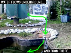 Make your own gray water dry well 55 gallon drum read more for Garden pool doomsday preppers