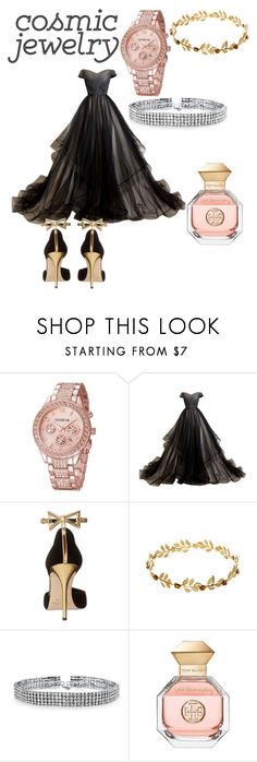 """Gemini ballroom outfit"" by mintiescupquake ❤ liked on Polyvore featuring Oscar de la Renta, Bling Jewelry and Tory Burch"
