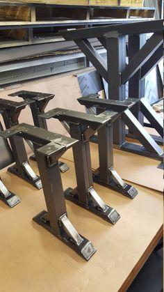 Trestle Bench Leg Model BR10S by DVAMetal on Etsy