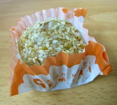 Kue moci - Rice flour based cake filled with peanuts paste, sometimes sprinkled with sesame seeds (Indonesian version of Japanese/Chinese mochi)