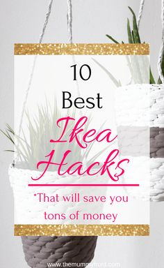 IKEA kitchen hacks are the perfect solution if you want to save money redecorating your kitchen. These IKEA kitchen hacks are easy to DIY on a small budget! Trash To Couture, Hacks Diy, Home Hacks, Do It Yourself Ikea, Eco Furniture, Classic Furniture, Furniture Design, Furniture Stores, Painting Furniture