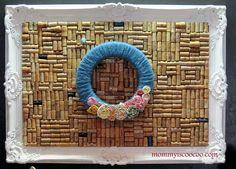 Yarn~Rosette Wreath DIY Tutorial :: Hometalk