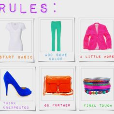 Rules of Color Blocking -