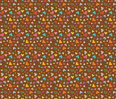 Hearts fabric by heidiryancreative on Spoonflower - custom fabric
