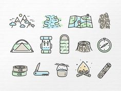 The icon set is available on CreativeMarket!