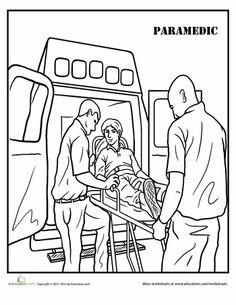 Mail Carrier Coloring Page Teaching