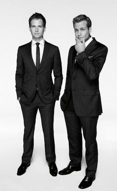 Suits, Mike and Harvey again ;)
