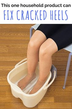 Is it true that you can fix cracked heels with this one household product that everyone has?