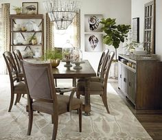 Lakeview Dining Room Awesome This #havertys Lakeview Dining Table Is Sure To Give Your Dinner Decorating Design
