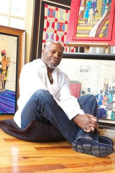 leroy campbell a descendent of the Gullah people of South Carolina.
