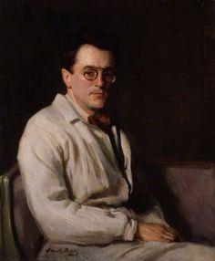 +Portrait Of Sir Gerald Kelly, 1920 by Oswald Birley (British 1880–1952)