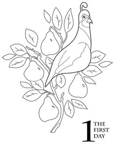 Stunning coloring pages: Dltk 12 days of christmas coloring pages Amazing Coloring sheets Christmas Embroidery Patterns, Christmas Applique, Tree Coloring Page, Coloring Books, Alphabet Coloring, Adult Coloring, Christmas Drawing, Christmas Paintings, Christmas Templates