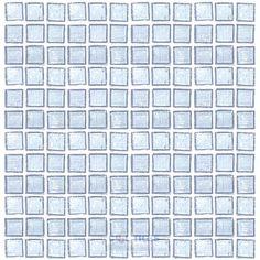 HotGlass | HAK-MG-004 | Clear Ice | Tile > Glass Tile