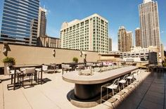 Circa and Upstairs at the Gwen - Chicago | An Art Deco Restaurant and a Terrace Bar at the Gwen