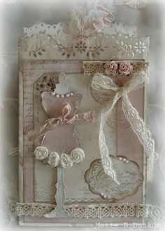 Simply gorgeous handmade card loaded with Shabby Chic goodness! ~Love~ Prior pin: Mette`s Kortverden: Shabby chic Shabby Chic Interiors, Shabby Chic Living Room, Shabby Chic Homes, Shabby Chic Furniture, Vintage Shabby Chic, Shabby Chic Style, Shabby Chic Decor, Shabby Chic Pink, Sewing Cards