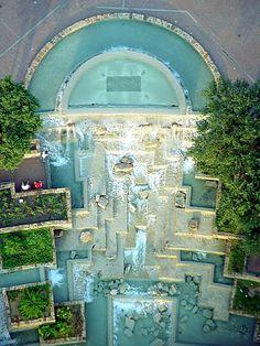 Water Gardens, San Antonio, Texas