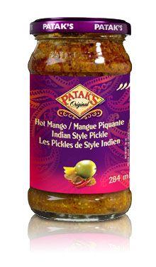 Hot Mango Pickle #Recipe #India #IndianFood #FoodPorn #Pataks #PataksCanada #MixinaLittleIndia #Indian #TonightsDinner #Food #Curry