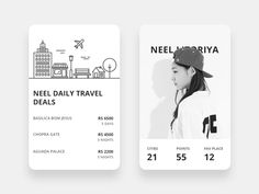 Collaborated for Travel guide app created some cool stuffs:)