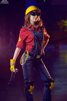 Engineer (TF2) cosplay, Photo by Pvt-Waffles.deviantart.com