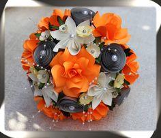 Paper Flower Bouquet by MyArteasure on Etsy