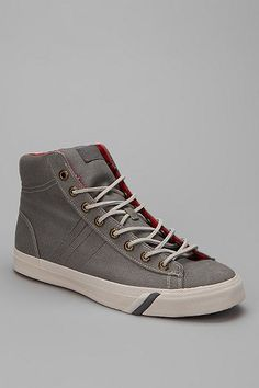 PRO-Keds Royal Plus Hi Washed Twill Sneaker