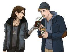 Bucky and Steve fan art