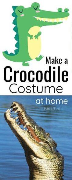 DIY Crocodile Costum