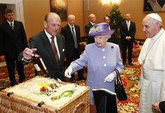 Queen Elizabeth gifts the Pope some good scotchLet it never be said that Queen Elizabeth doesn't know how to party. The 87-year-old monarch and her main man, Prince Philip, took a quick trip to Italy this week to check in with Pope Francis. As a token of her respect, she brought some little tid-bits from Buckingham Palace, all packed up neatly in a wicker picnic hamper, according to the Associated Press. Among the gifts? Honey and a dozen eggs, direct from the Queen's garden. And some cider…