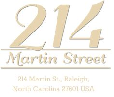 214 Martin Street, downtown Raleigh wedding venue and custom catering company in the Moore Square district, is the perfect mix of history, urban charm and elegance. 20 foot ceilings, cobblestone streets and original brick make it the perfect location for photos, ceremonies and receptions. With 3200 square foot of event space, 214 Martin can hold as many as 300 guests. Award winning chef Matt Thompson leads the in-house catering team that can create custom menus for any event! Related Posts…