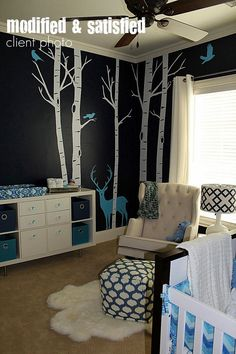 Coolest thing I seen for a baby boy room! Def. Doing this and would even fit a teenage boy.