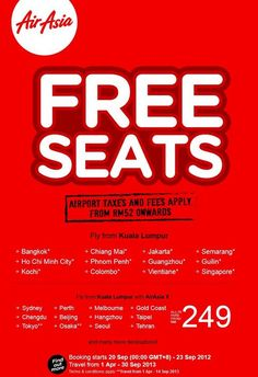 9 best airasia malaysia promotion images malaysia period promotion rh pinterest com