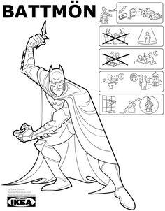 The Marvel Comics of the — Superhero origin stories as IKEA instruction. Batman, Spiderman, Marvel Dc, Marvel Comics, Wonder Woman, Comic Book Artists, Comic Books, Illustrator, Cartoon People