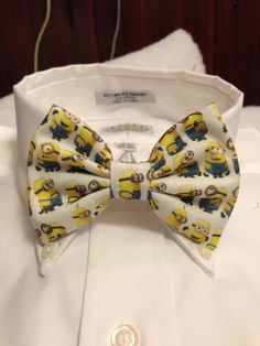 Despicable Me Minion Madness Bowtie / Bow Tie or Hair by 2Marys, $10.00