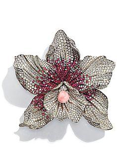 Chopard conch pearls diamond