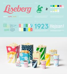 Liseberg - The new identity by Stockholm-based Happy F adds sophistication where there was none, with a perfectly balanced color palette and fun graphics, along with a redesigned, 1-color rabbit.