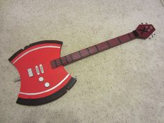 DIY Adventure Time Marceline's Guitar