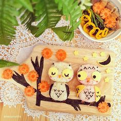 Collection: Owl Bento Box SEVERAL cute ideas