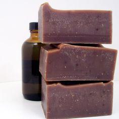 Vanilla Chai natural cold process soap BIG 6 by BesemNaturalScents