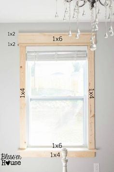 Farmhouse Trim Moldings Window Casing Craftsman Style 67 New Ideas Easy Home Decor, Cheap Home Decor, Home Improvement Projects, Home Projects, Sewing Projects, Home Renovation, Home Remodeling, Remodeling Companies, Basement Renovations