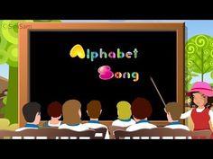 Nursery Rhymes : Alphabet song with Phonics - Learn ABC - YouTube