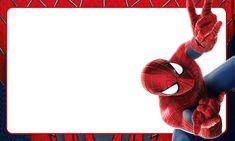 Etiqueta Escolar Personalizada Homem Aranha 5