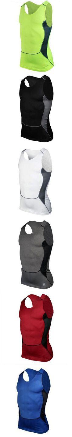 Men Compression Tight Tee Shirts Gyms Men Tank Tops Shirt Bodybuilding Fitness Men's Stringer Vest Top PL3