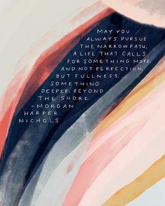 Beautiful words by Morgan Harper Nichols #thursdayinspo