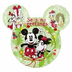 Mickey & Friends Christmas Plate