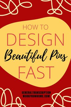 How to Create Beautiful Pins Quickly and Easily with Templates. Make Pinterest pins that stand out and draw attention. Get more clicks, repins, page views and traffic #pindesign #designpins #pinterest #getrepins #repins #howtogetrepins #pinterestclicks #getmoreclicksonpinterest