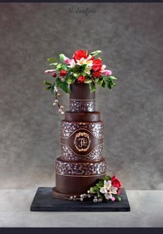 A chocolate cake - Cake by Neli
