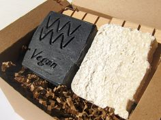 Detox and Clarifying Soap Set - Skin Polishing Soap Set -  Aquarian Bath's Detox and Clarifying soap set will make your skin feel exceptionally clean and polished. The Black Charcoal and Bentonite unscented soap provide deep cleansing and purification to the pores of the skin from the drawing properties of the Activated Charcoal and Bentonite clay. The Bentonite clay has the added benefit of a creating a very smooth feel to the lather. This vegan, palm-free soap is balanced with moisturizing…