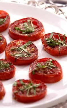 Balsamic Roasted Tomatoes Recipe