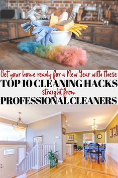 Get your home ready for the New Year (or any time) with these amazing cleaning tips straight from Professional Cleaners! Get that decluttering done and having your home sparkling clean in no time! House Cleaning Checklist, Diy Home Cleaning, Bathroom Cleaning, Cleaning Hacks, Deep Cleaning, Professional House Cleaning, Professional Cleaners, Decluttering Ideas Feeling Overwhelmed, Diy Crafts For Kids Easy